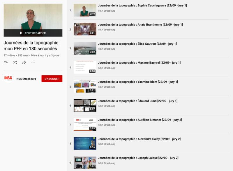 Chaîne YouTube INSA